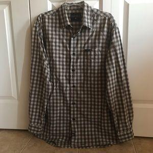 Nautica Mens Shirt Size:L Color Grey Charcoal